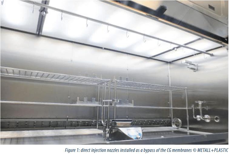 Isolator : direct injection nozzles